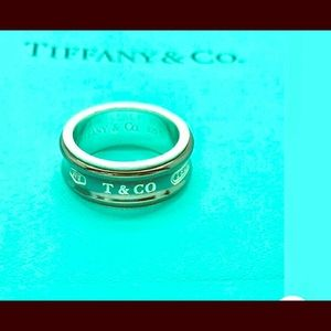 TIffany&CO. Galaxy band ring 1837  ring